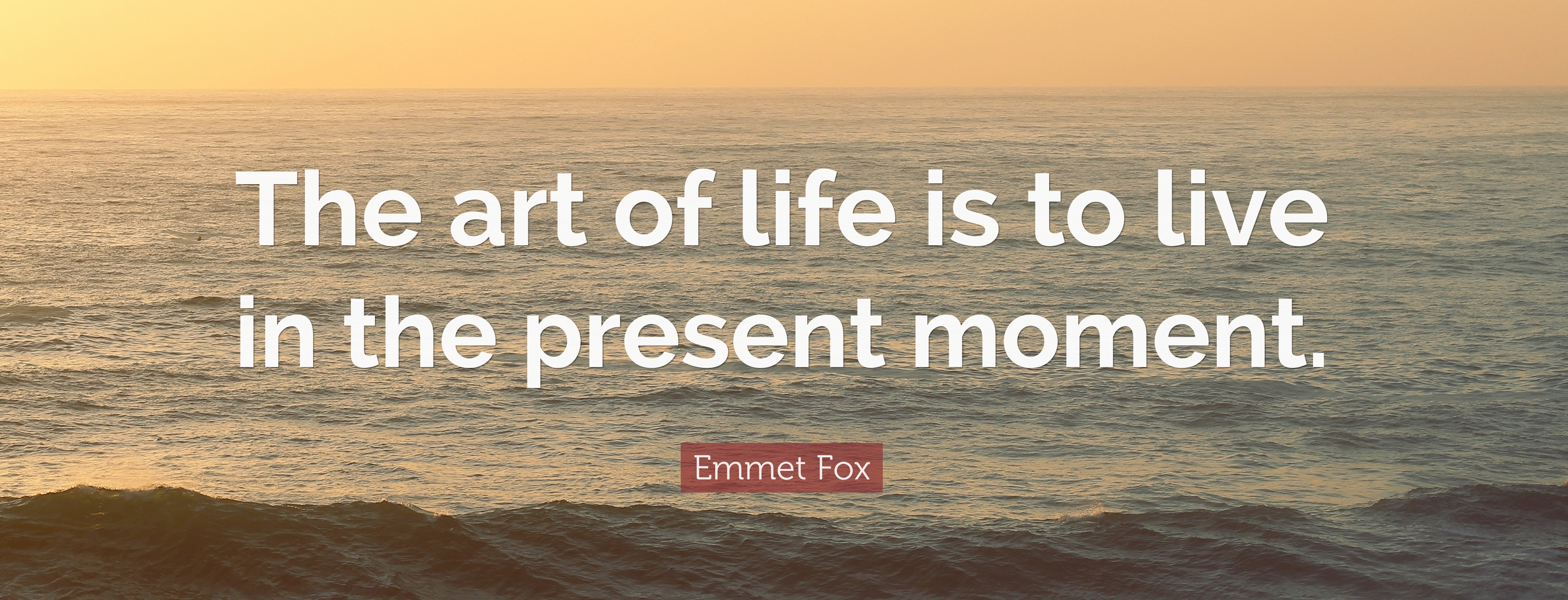 emmet fox present moment quote - The Joy Within