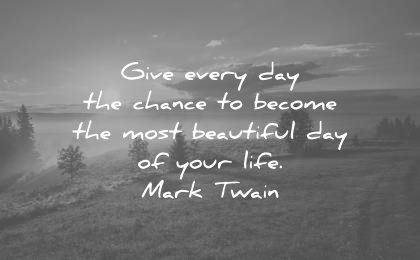 mark twain positive morning quote - The Joy Within