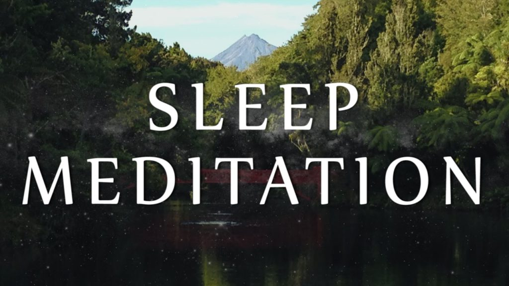 Guided Sleep Hypnosis Meditation to Let Go of Negative