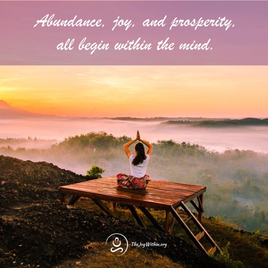 Abundance Meditation Series - The Joy Within