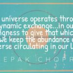 Deepak Chopra Explains The Law of Giving and Receiving