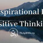 6 Best Inspirational Books On Positive Thinking