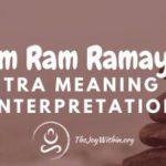 Om Ram Ramaya Mantra Meaning