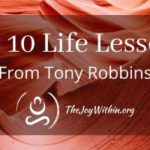 Top 10 Life Lessons From Tony Robbins