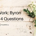 The Work: Byron Katie's 4 Questions
