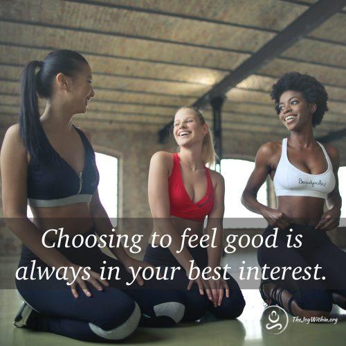 choosing to feel good yoga